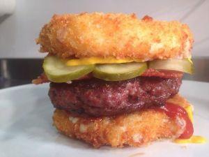 Mac Daddy burger from Solita