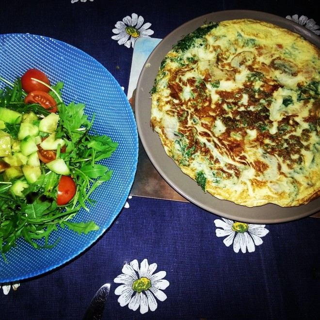kale and mushroom spanish tortilla recipe